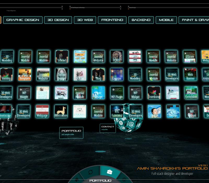 3D Website Development