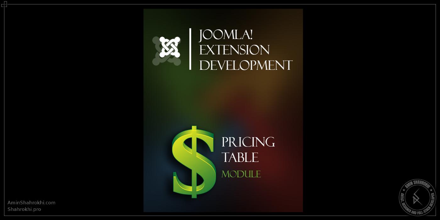 Joomla Pricing Table