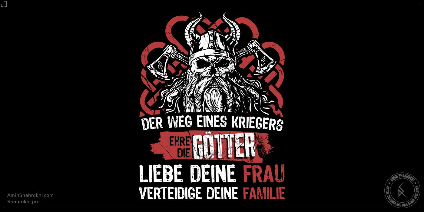 Viking shirt design