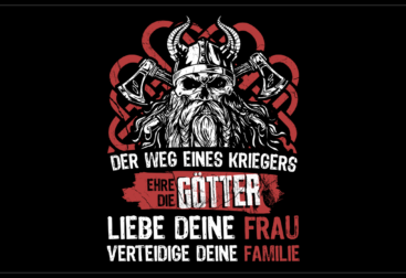 Viking shirt design