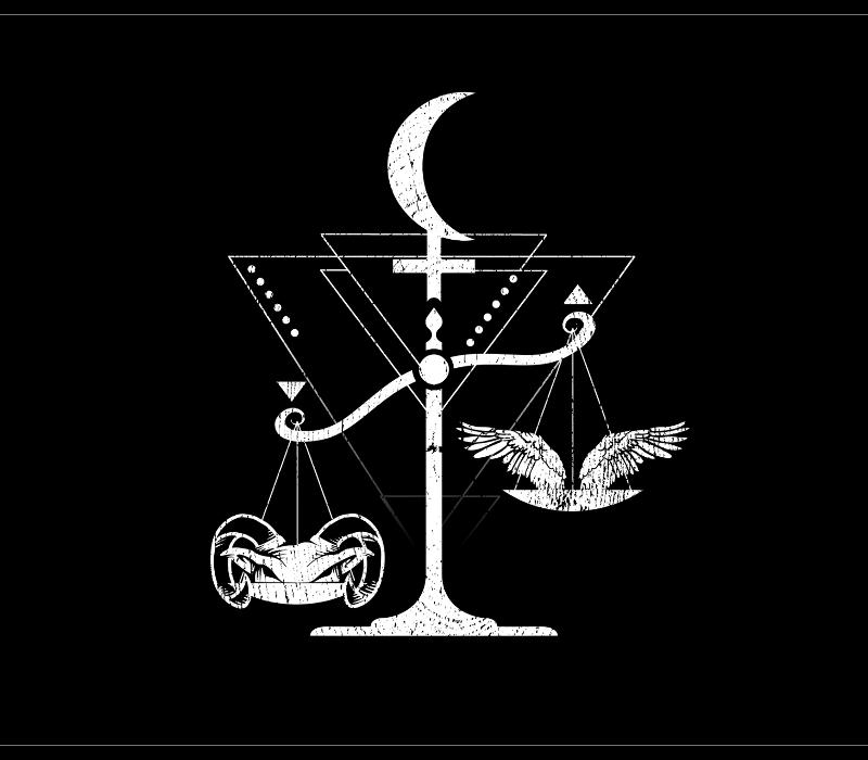 Lilith in Libra shirt design