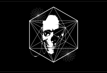 Skull design for t-shirts