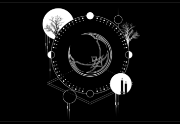 Moon cycle shirt design
