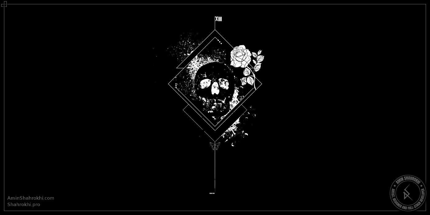 Skull Design for T-Shirts